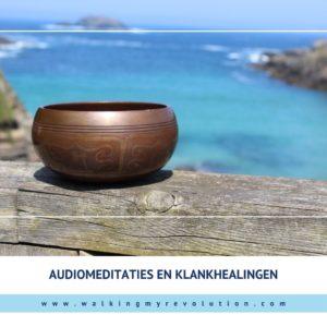 Audiomeditaties en klankhealingen